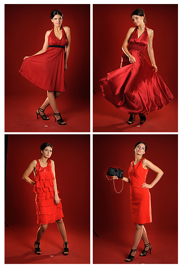 Abendkleid - Cocktailkleid Rot 2013